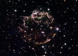 Hubble's View of Supernova Remnant Cassiopeia A.