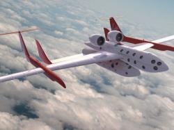 Concept image of SpaceShipTwo. Image credit: Virgin Galactic.