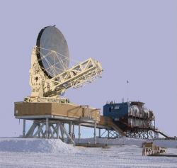 South pole telescope.
