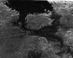 Lake on Titan.