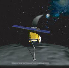 Artist impression of the OSIRIS spacecraft. Image credit: NASA/U of Arizona.