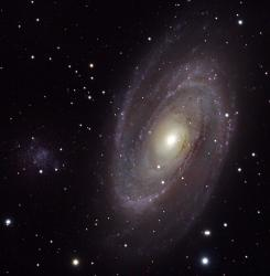 M81 and Holmberg IX. Credit:RickJ.