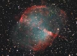 Dumbbell Nebula.