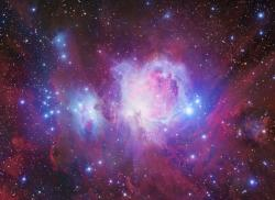 Orion Deep field (detail of The Great Nebula- M42).