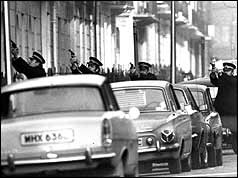 SAS at Balcombe Street siege.