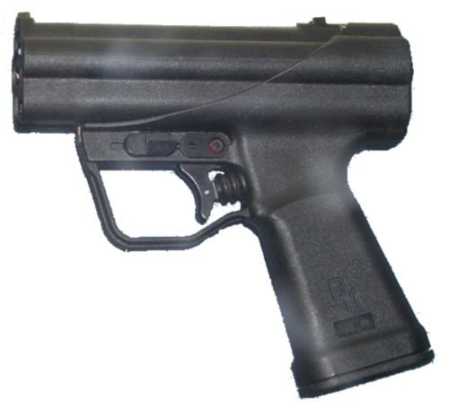 SAS pistol for underwater.