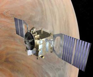 Venus Express Spacecraft.