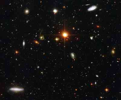 Group of Galaxies captured by Hubble.